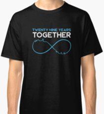 Celebrating the 29th Wedding Anniversary Together T-Shirt Classic T-Shirt