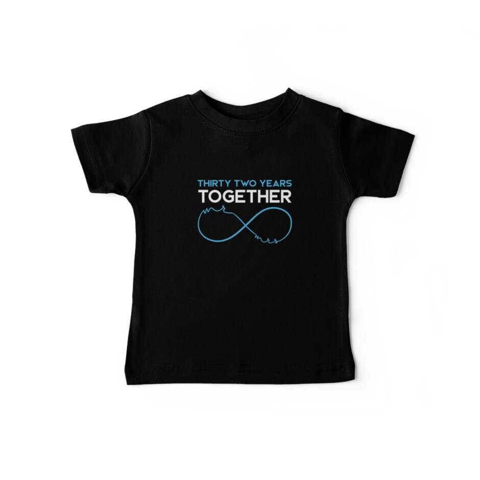 Celebrating the 32nd Wedding Anniversary Together T-Shirt