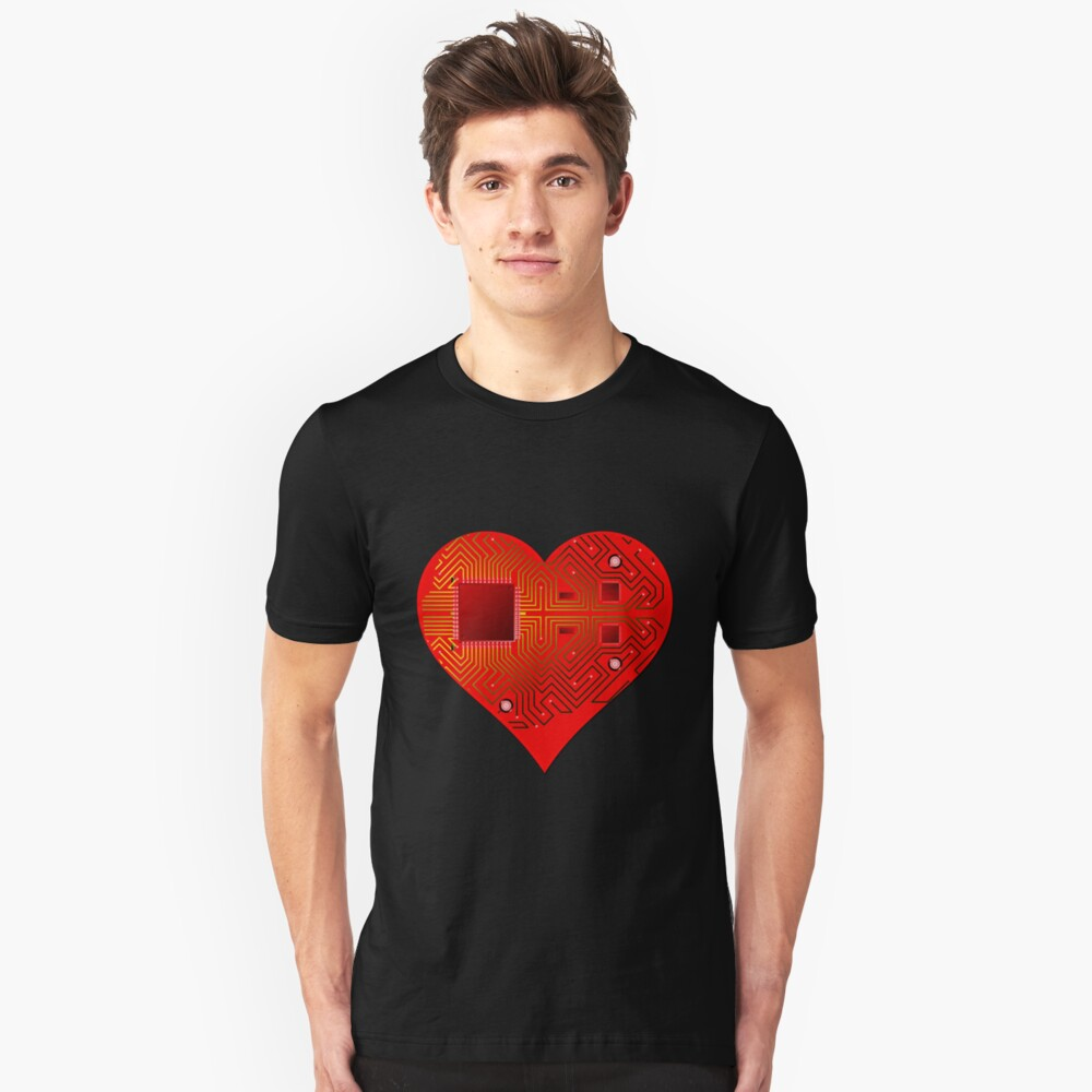 A.I HEART Slim Fit T-Shirt