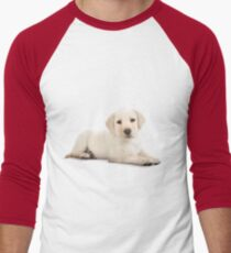 Puppy! Men's Baseball ¾ T-Shirt