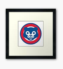 Cubs Graphic Framed Print