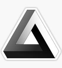 Pegatina Triángulo imposible