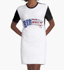 REDNECK Graphic T-Shirt Dress