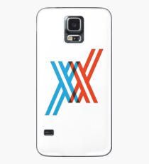 Darling in the Franxx Logo Case/Skin for Samsung Galaxy
