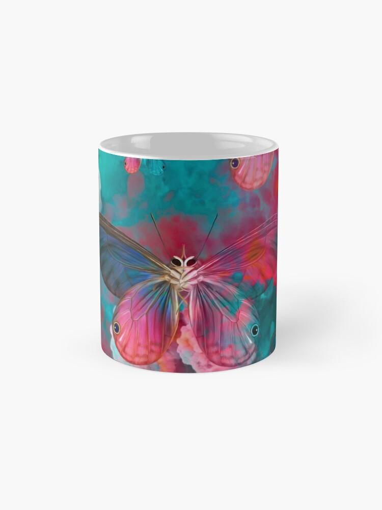 """Vista alternativa de Tazas """"Spring Butterfly love"""""""