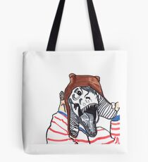 She's a monster! Tote Bag