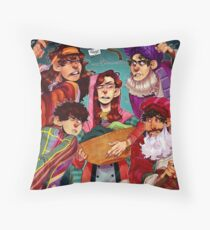 Four Jews In A Room Bitching Throw Pillow