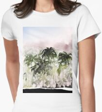 Calm before the rain Women's Fitted T-Shirt