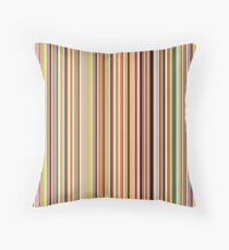 Old Skool Stripes Throw Pillow
