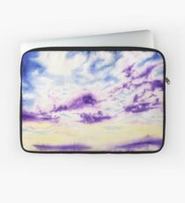 Purple Cloud Sky Laptop Sleeve