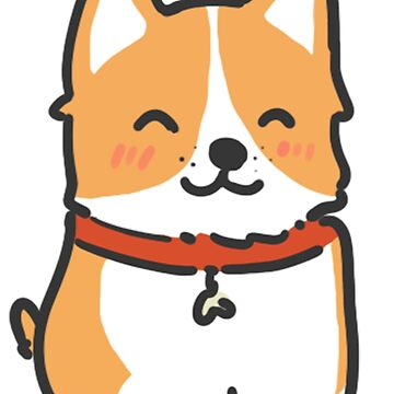 Happy Corgi by LittleSmarthy