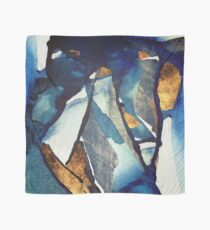 Cobalt Abstract Scarf