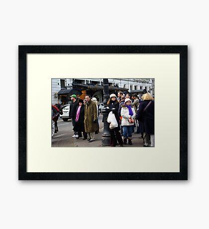 People Everywhere Framed Print