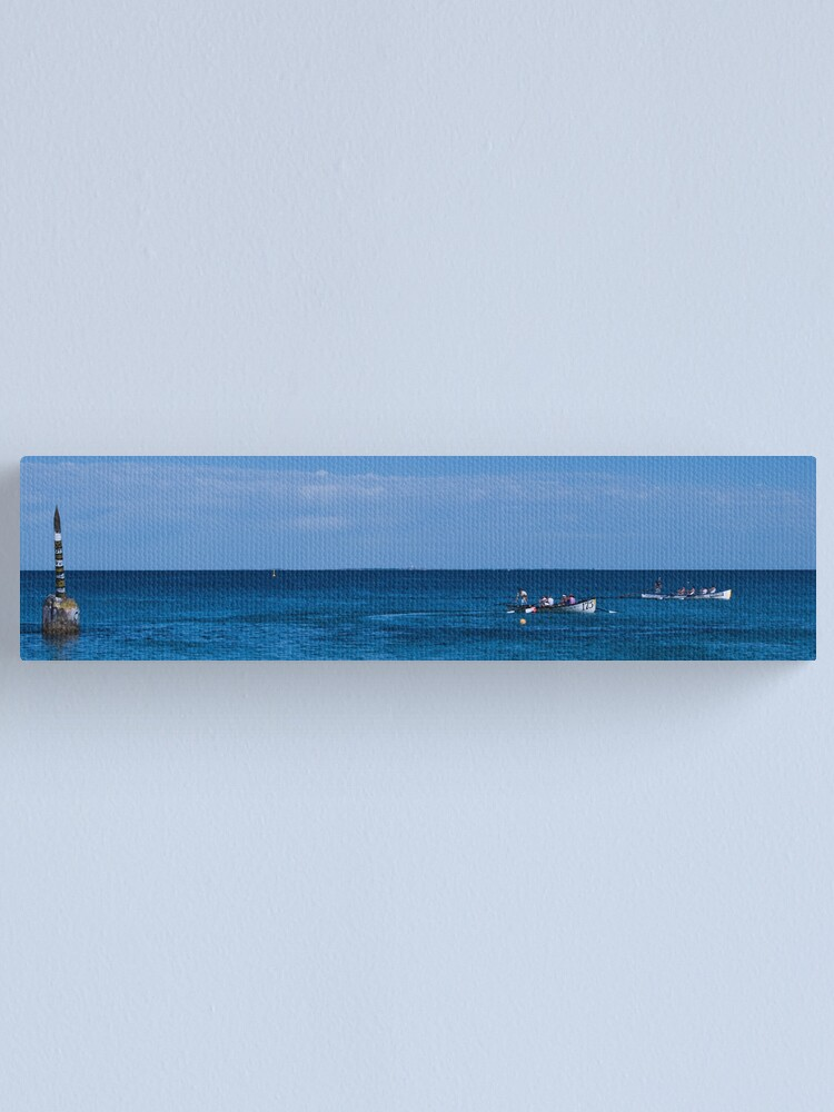 Alternate view of Race On Canvas Print