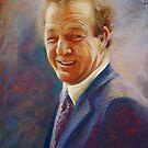 Portrait of Dick  by Lynda Robinson