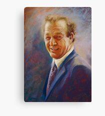 Portrait of Dick  Canvas Print
