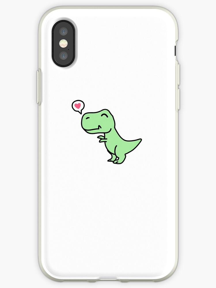 coque iphone xr dinosaure