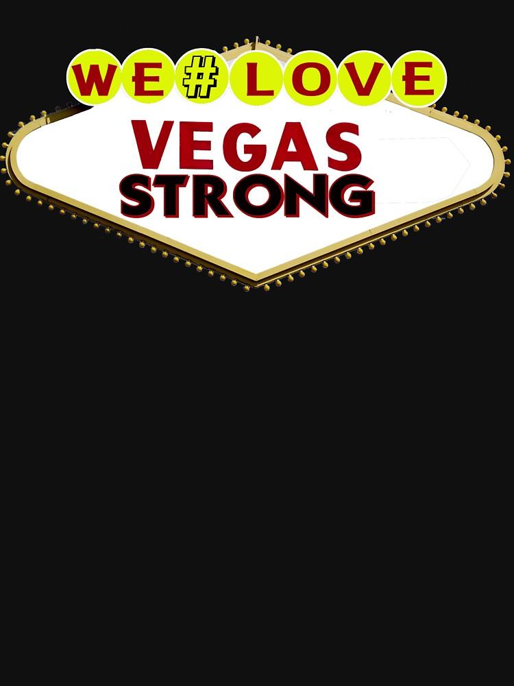 We Love #VEGAS STRONG by Rightbrainwoman