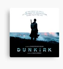 Dunkirk - SURVIVAL IS VICTORY Canvas Print