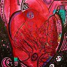 Fuchsia Heart  by MariARTrujillo