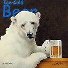 Will Bullas / art print / ice cold bear... / humor / animals by Will Bullas