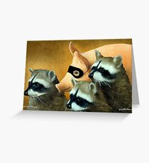 Will Bullas / art print / just one of the guys... / humor / animals Greeting Card