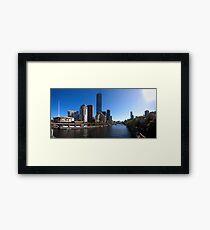 Melbourne Pano 01 Framed Print