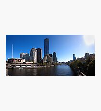 Melbourne Pano 01 Photographic Print