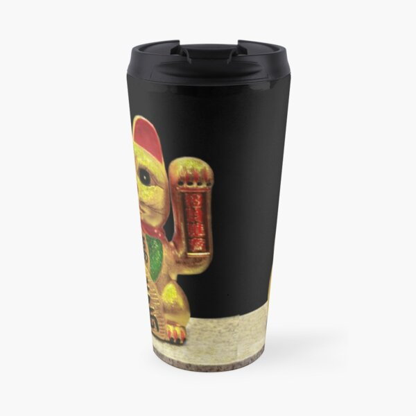 Maneki-neko for Good Luck! ( Japan 1876) Travel Mug