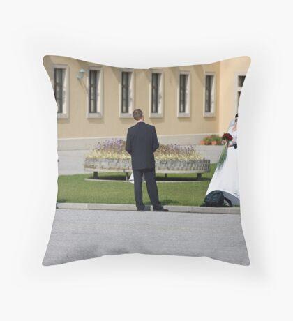 Wedding photographer 2 Throw Pillow