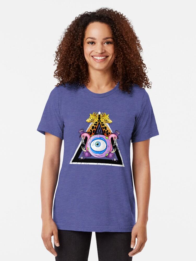 Alternate view of Kingdom Come Tri-blend T-Shirt