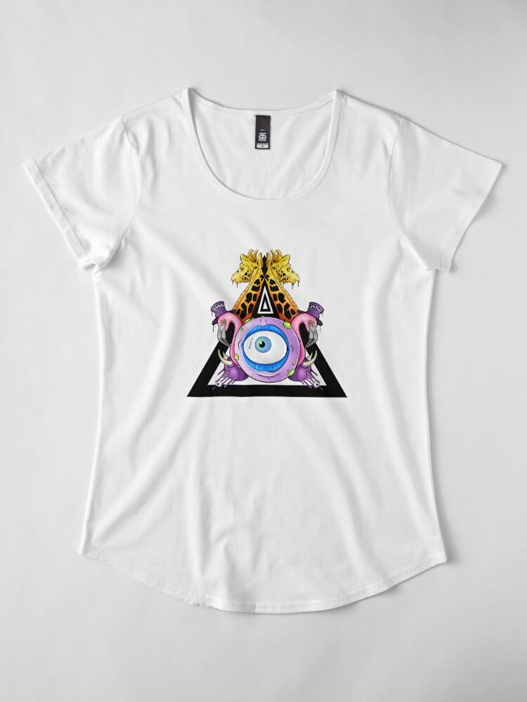Alternate view of Kingdom Come Premium Scoop T-Shirt