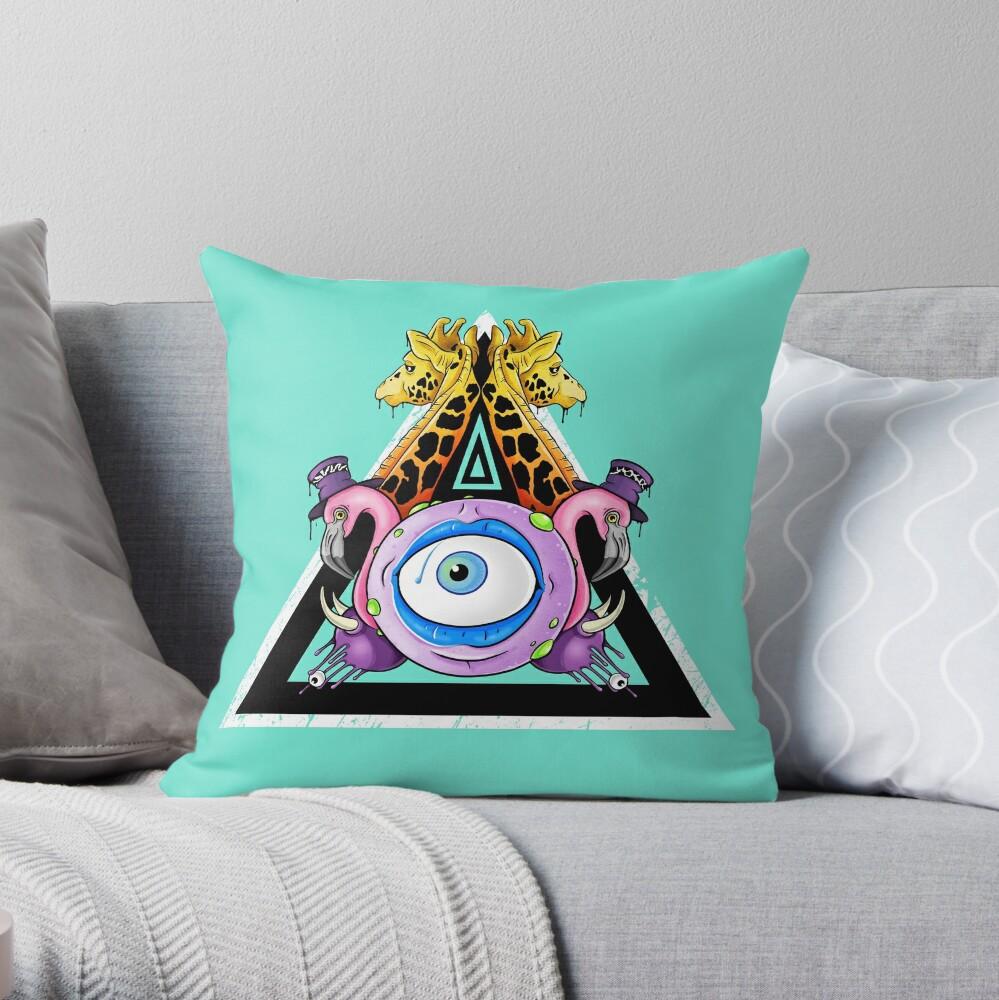 Kingdom Come Throw Pillow