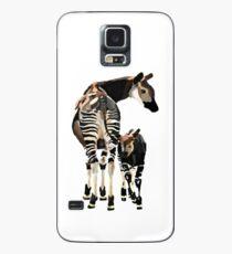 Okapi und Kalb Hülle & Klebefolie für Samsung Galaxy