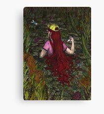 Sweet Summertime Secrets Canvas Print