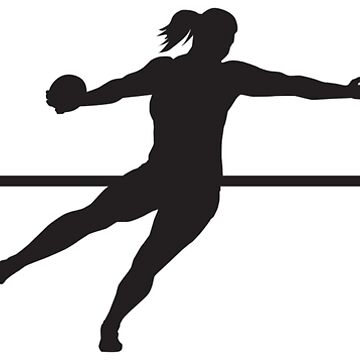 Heartbeat / Pulse - Women's Discus Throw Silhouette  by SandpiperDesign