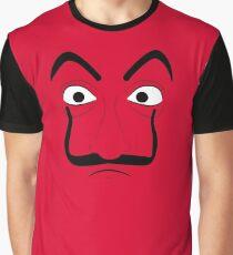 La Casa de Papel Mask Graphic T-Shirt