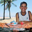 Copacabana Beach, Brazil 2009 by Tash  Menon