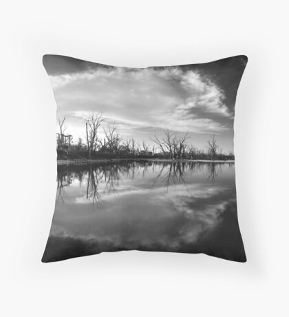 Cloud Burst Throw Pillow