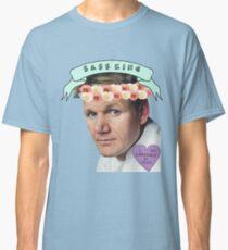 Gordon Ramsay Flower Crown Sass Classic T-Shirt