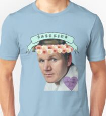 Gordon Ramsay Flower Crown Sass Unisex T-Shirt