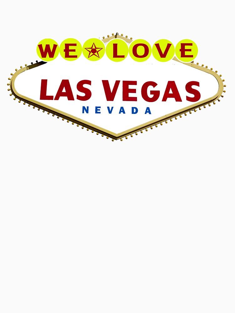 We Love Las Vegas by Rightbrainwoman