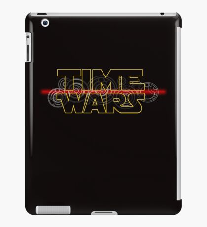 Time Wars  iPad Case/Skin