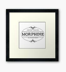 morphine Framed Print