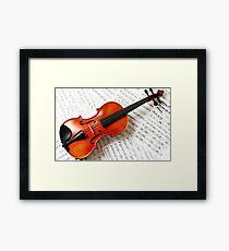 Tshirts & Hoodies violin  Framed Print