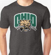 Camiseta unisex Camiseta del colegio de fútbol de los linces de Ohio Camiseta Merchanidise de la universidad