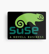 Open Suse Linux Merchandise Metal Print