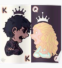 Póster Rey y reina