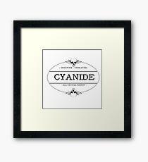 Cyanide Framed Print