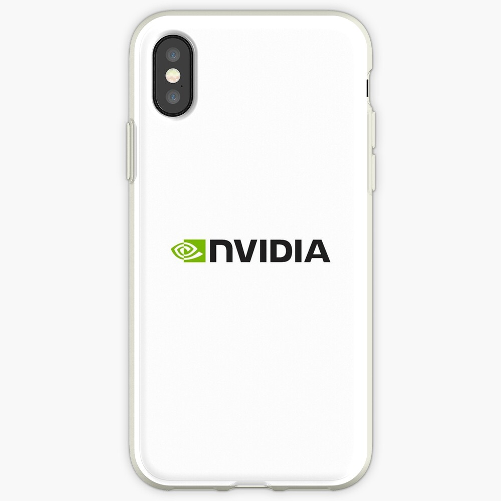 Nvidia Logo Merchandise iPhone-Hülle & Cover